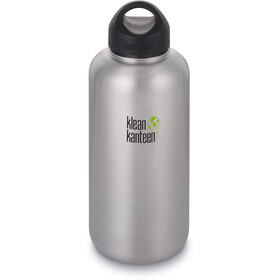 Klean Kanteen Wide Bottle Stainless Loop Cap 1900ml brushed stainless